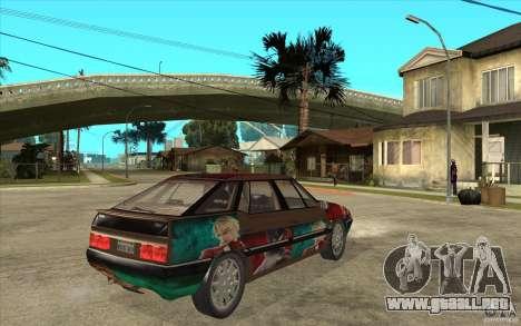 Citroen XM Custom para la visión correcta GTA San Andreas