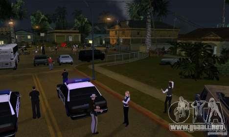 Proyecto x en Grove Street para GTA San Andreas segunda pantalla
