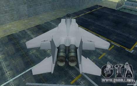 F-15 para la visión correcta GTA San Andreas