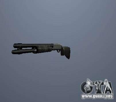 Pak altas armas poligonales para GTA San Andreas tercera pantalla
