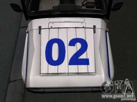 Policía 315195-UAZ Hunter para visión interna GTA San Andreas