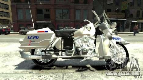 Police Bike para GTA 4 left