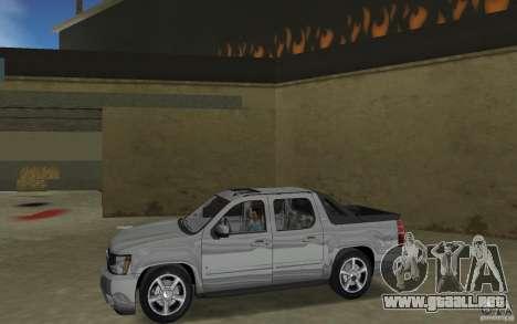Chevrolet Avalanche 2007 para GTA Vice City left