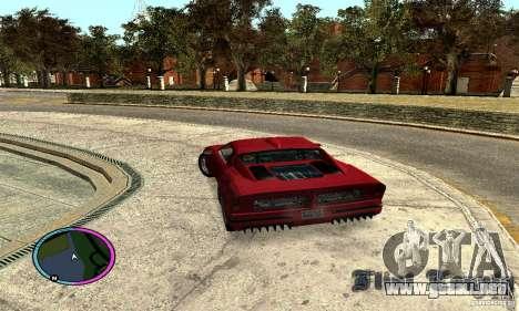 Axis Piranha Version II para GTA San Andreas left