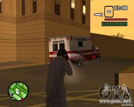 Campanas y silbatos para armas para GTA San Andreas décimo de pantalla
