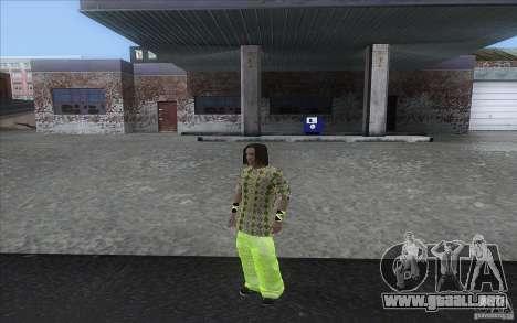 Rasta ped para GTA San Andreas tercera pantalla