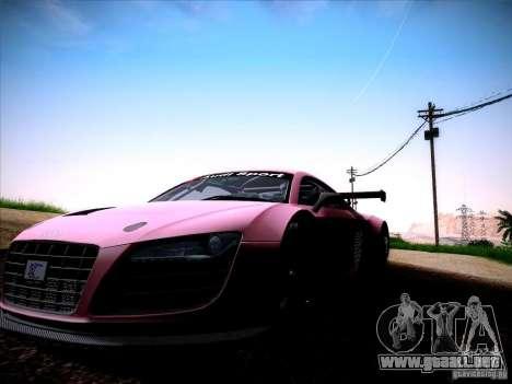 Audi R8 LMS v2.0 para la visión correcta GTA San Andreas