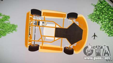 Karting para GTA 4 vista superior