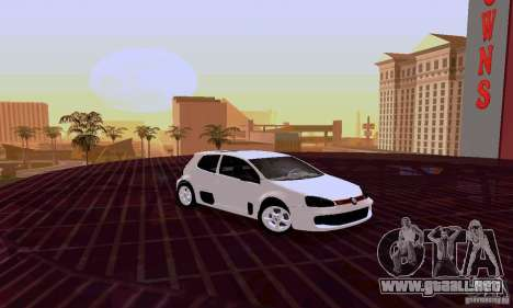 Volkswagen Golf 5 GTI W12 para GTA San Andreas left