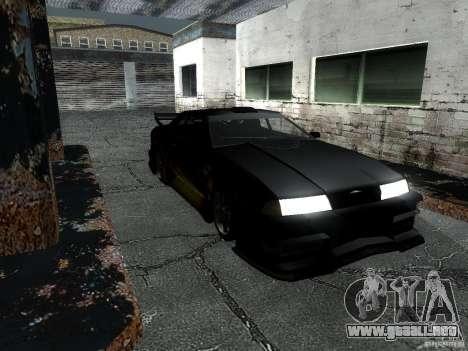 Barón de vinilo de Most Wanted para GTA San Andreas vista posterior izquierda