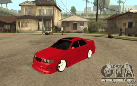 Toyota Chaser Tourer V JZX100 1999 para GTA San Andreas