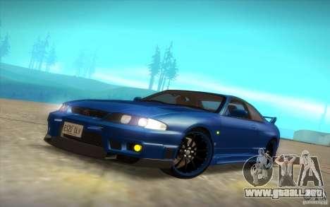 Nissan Skyline R33 GT-R V-Spec para la vista superior GTA San Andreas