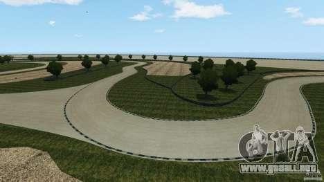 Dakota Raceway [HD] Retexture para GTA 4 novena de pantalla