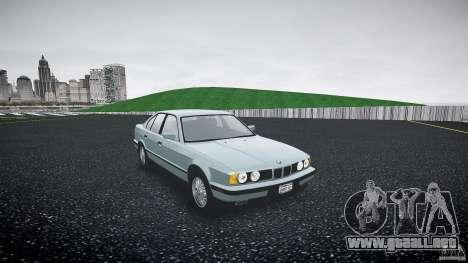 BMW 535i E34 para GTA 4 visión correcta