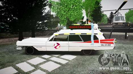 Cadillac Ghostbusters para GTA 4 left