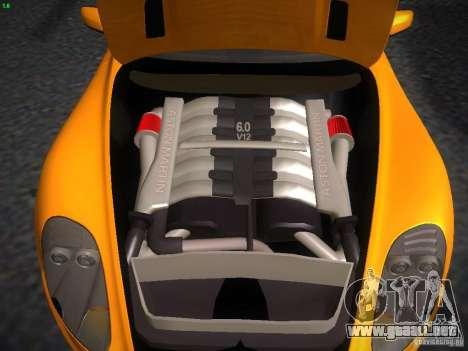 Aston Martin DBS para la visión correcta GTA San Andreas