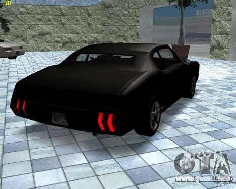 Nuevas máquinas de textura para GTA San Andreas segunda pantalla