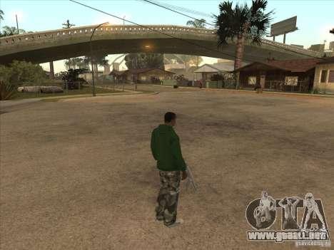 Teletransporte a un marcador para GTA San Andreas segunda pantalla