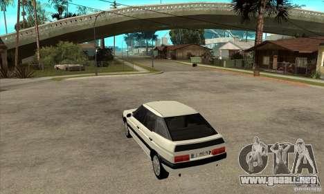 Citroen XM 1992 para GTA San Andreas vista posterior izquierda