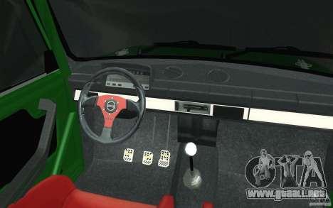 Deporte Lada VAZ-2101 para la vista superior GTA San Andreas