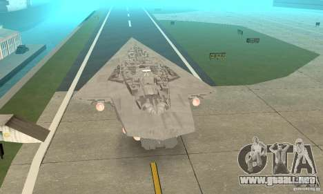 Executor Class Stardestroyer para GTA San Andreas left