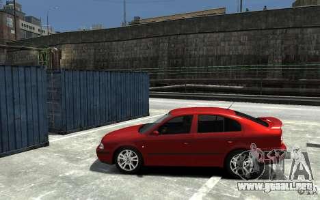 Skoda Octavia v.1.0 para GTA 4 vista interior