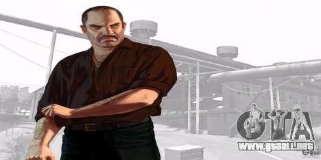 Pantallas de inicio de GTA IV v. 2.0 para GTA San Andreas octavo de pantalla