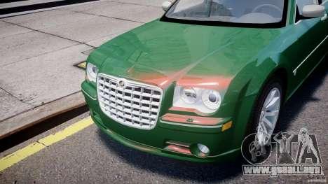 Chrysler 300C SRT8 Tuning para GTA 4 vista lateral