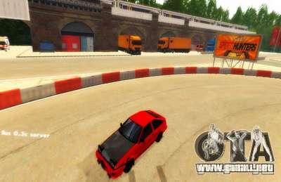 Deriva de Londres para GTA San Andreas segunda pantalla