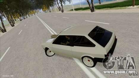 ВАЗ 2108 Sport para visión interna GTA San Andreas