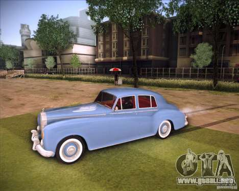 Rolls Royce Silver Cloud III para GTA San Andreas vista posterior izquierda
