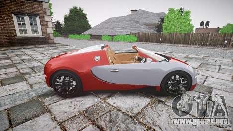 Bugatti Veyron Grand Sport [EPM] 2009 para GTA 4 left