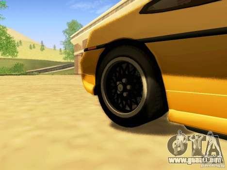 Pontiac Fiero V8 para la visión correcta GTA San Andreas