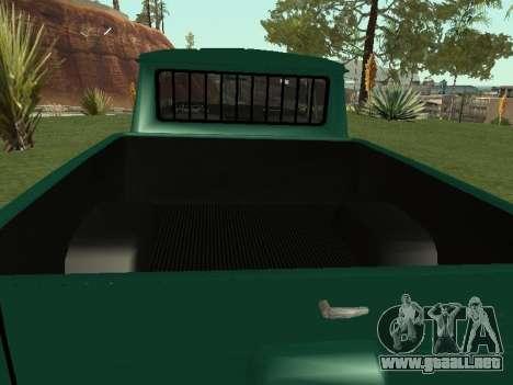 IZH 27151 PickUp para la visión correcta GTA San Andreas