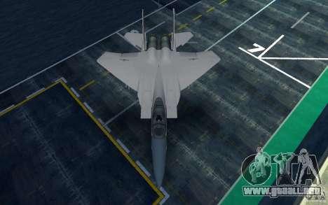 F-15 para GTA San Andreas vista posterior izquierda