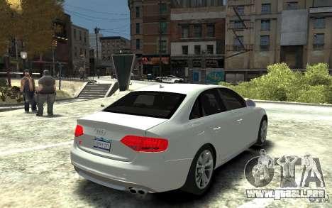 Audi S4 2010 v.1.0 para GTA 4 visión correcta