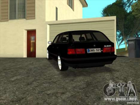 BMW E34 535i Touring para GTA San Andreas left