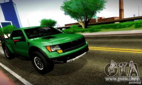 Ford F-150 SVT Raptor V1.0 para GTA San Andreas left