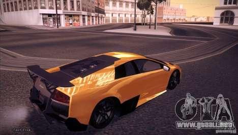Enb Series v5.0 Final para GTA San Andreas segunda pantalla
