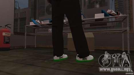 Lacoste runners para GTA 4 tercera pantalla