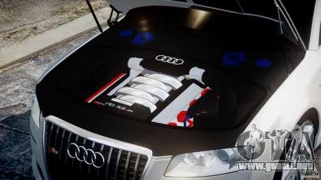 Audi S8 D3 2009 para GTA 4 visión correcta