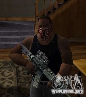New Bandanas Style para GTA San Andreas segunda pantalla