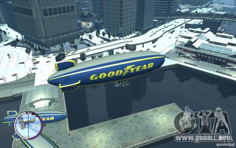 Dirigible para GTA 4 left