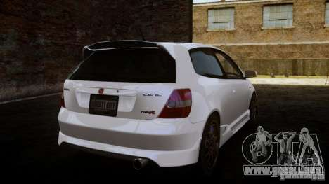 Honda Civic Type-R (EP3) para GTA 4 left