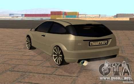 Ford Focus Light Tuning para la visión correcta GTA San Andreas