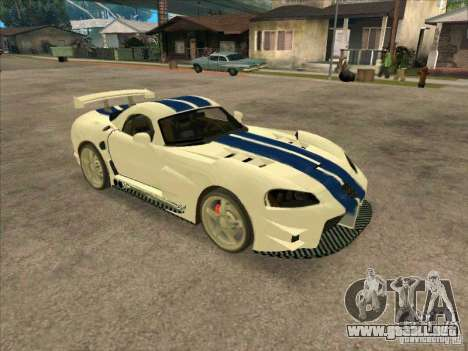 Dodge Viper from MW para GTA San Andreas left