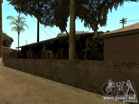 Casa nueva de Denis para GTA San Andreas quinta pantalla