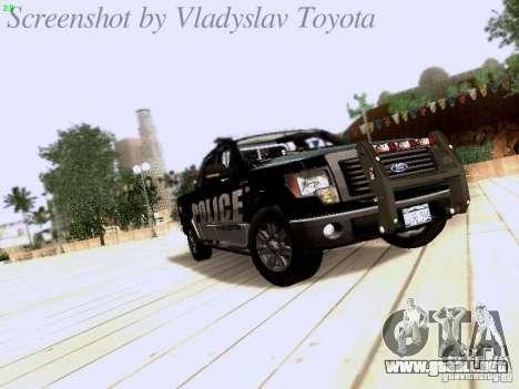 Ford F-150 Interceptor para GTA San Andreas