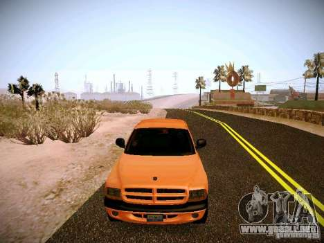 Dodge Ram 1500 Dacota para vista lateral GTA San Andreas