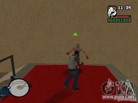 Training and Charging 2 para GTA San Andreas segunda pantalla